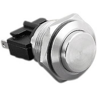 Tamper-proof pushbutton 250 V AC 5 A 1 x Off/(On) Bulgin