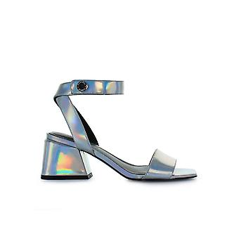KENDALL AND KYLIE KYLA SILVER SANDAL