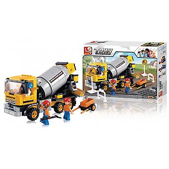 Sluban Building Blocks Town Serie Cement Mixer
