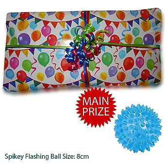 Pass The Parcel Ready Made - Unisex Fun Party Game - Pre Made BEST VALUE - 10 Layers - Option 2