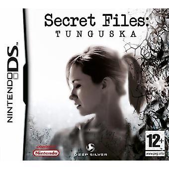 Hemmelige filer Tunguska (Nintendo DS)