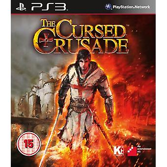 The Cursed Crusade (PS3) - Factory Sealed