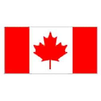 Canada Flag 5ft x 3ft With Eyelets For Hanging