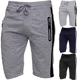 Men's Sweat Shorts Jogging Sport short trousers Jogging Basketball Summer Knee-length