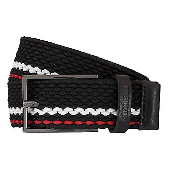 Strellson belts men's belts woven belt stretch belt red 5959
