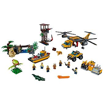 LEGO Jungle Helicopter dropping 60162