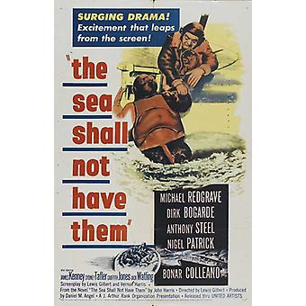 The Sea Shall Not Have Them Movie Poster (11 x 17)