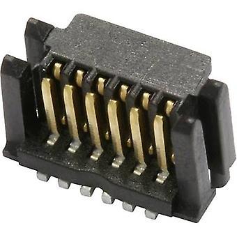 284257 número de pins 14 conector (pins) del borde. de filas 1 ERNI 1 PC