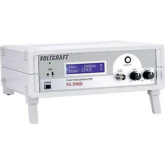 VOLTCRAFT FG 250D Mains-powered 250 kHz (max) 1-channel Manufacturers standards (no certificate)
