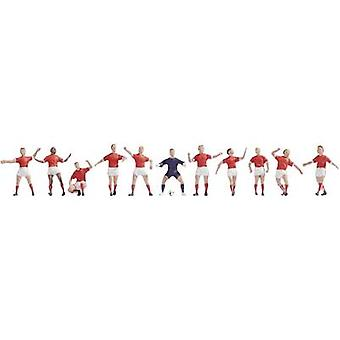 NOCH 15985 H0 Figures Football Team Red/White