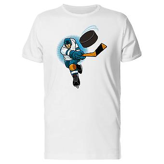 Illustration Of A Hockey Player Tee Men's -Image by Shutterstock