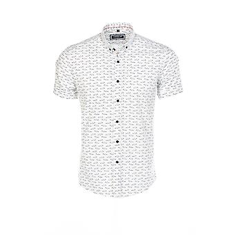 Short sleeves shirt White 9093 Carisma Man