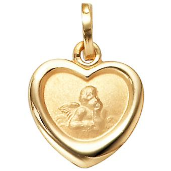 Children trailer guardian angel 333 gold yellow gold embossed children's jewellery baptism birth