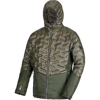 Regatta Mens Kartona Lightweight Water Repellent Hooded Coat Jacket