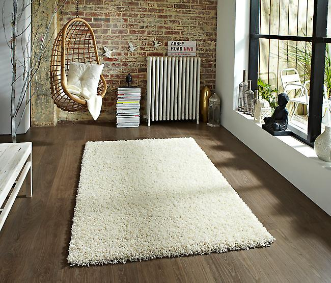 Vista - Plain 2236 Cream Cream Rectangle Rugs Plain/Nearly Plain Rugs