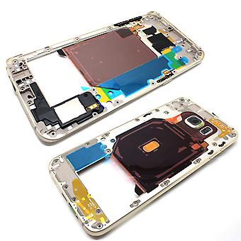 Middle Frame / Chassis for Samsung S6 Edge Plus - Gold