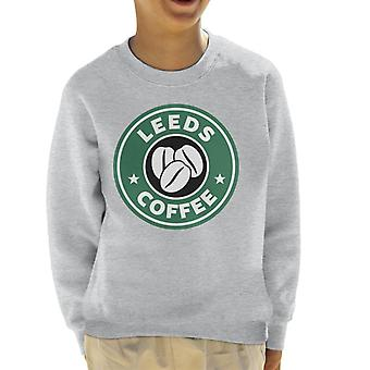 Leeds Coffee Starbucks Kid's Sweatshirt