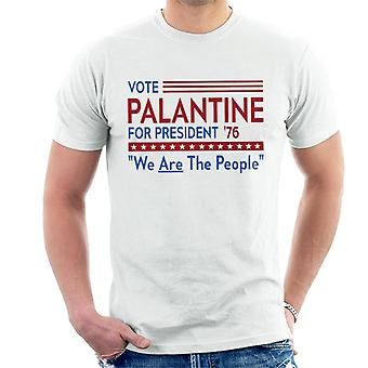 Taxi Driver Palantine For President Men's T-Shirt