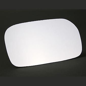 Right Driver Side Stick-On Mirror Glass for Honda CIVIC VI 2001-2005