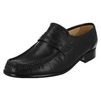 Mens Grenson Formal Shoes Watford Navy 33341-04 Size UK 6G