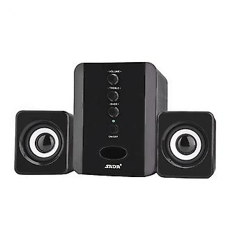 SADA D-202 Stereo speakers with Subwoofer, Black