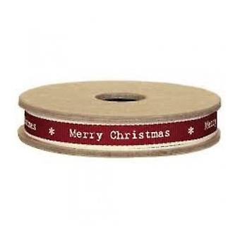 East of India Merry Christmas Ribbon