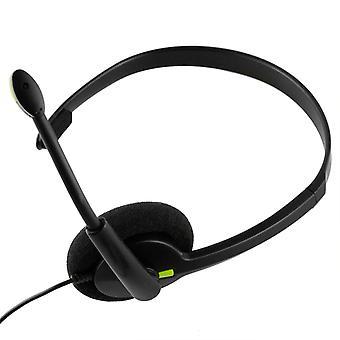 Xbox One compatibele hoofdtelefoon zwart - door TRIXES