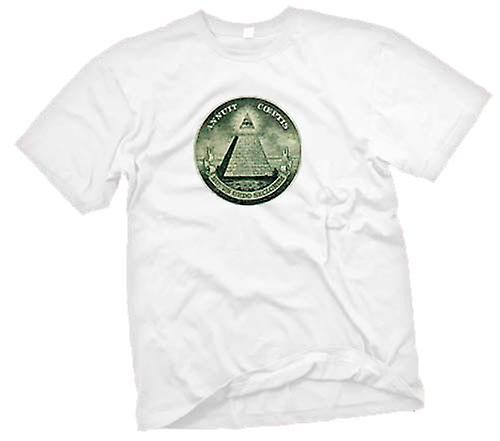 Mens T-shirt - Illuminati - Conspiracy
