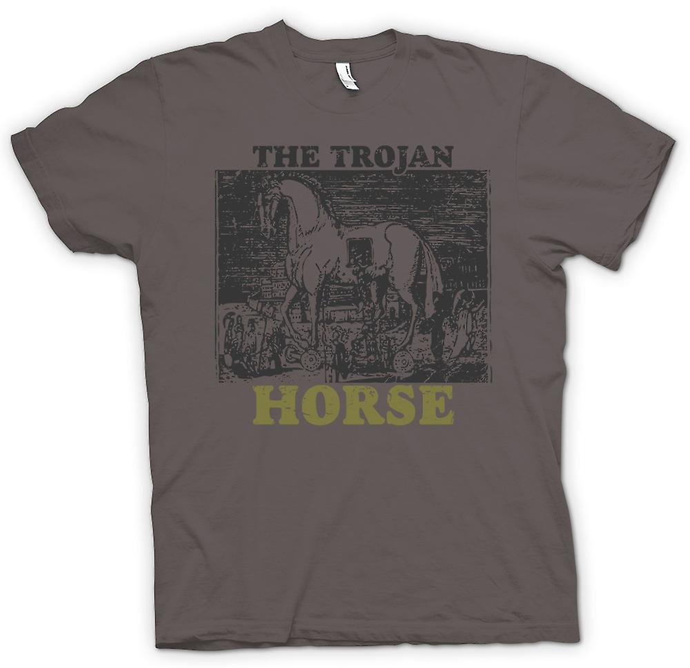 Womens T-shirt - The Trojan Horse - Troy