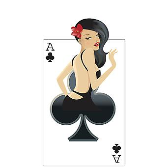 Clubs Babe (Poker Night) - Lifesize Cardboard Cutout / Standee