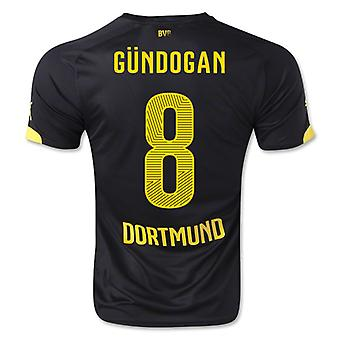 2014-15 Borussia Dortmund Away Shirt (Gundogan 8) - Kids