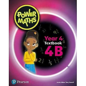 Power Maths Year 4 Textbook 4B (Power Maths Print)
