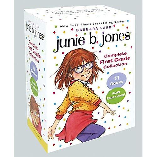 Junie B. Jones Complete First Grade Collection  Books 18-28 with Paper Dolls in Boxed Set