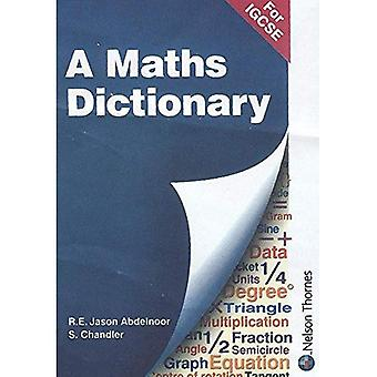 A Mathematical Dictionary for IGCSE