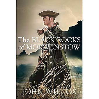 Schwarze Felsen von Morwenstow, die
