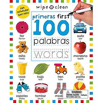 Wipe Clean: First 100 Words Bilingual (Spanish/English) (First 100)