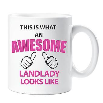 This Is What An Awesome Landlady Looks Like Mug