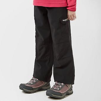 New Regatta Kid's Softshell Pantalones Negro