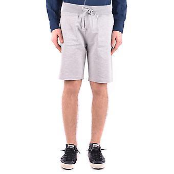Shorts de algodão cinzento Aeronautica Militare