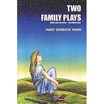 TVÅ familj spelar MARIA och KOMETEN RUNDABORDSKONFERENSEN av MANN & Maria ANNEETA