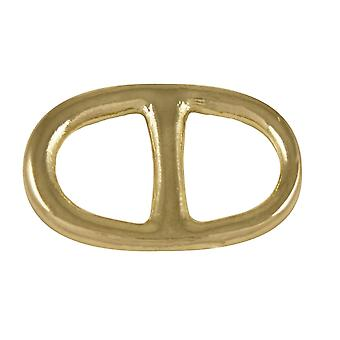 Eternal Collection Buckle Style Gold Tone Scarf/Sarong Ring