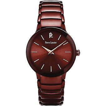 Show Pierre Lannier 022F944 - Brown steel women watch