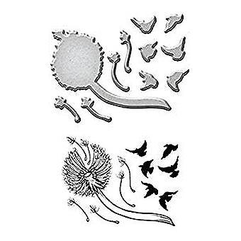 Spellbinders Dandelion Stamp & Die Template Set (SDS-046)