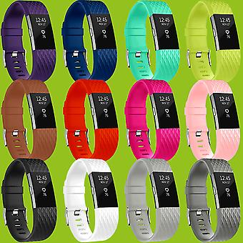 High-quality plastic / silicone watch wristband for Fitbit batch 2 accessories new