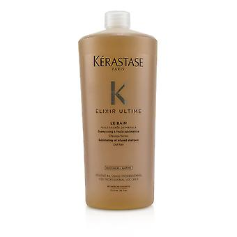 Kerastase Elixir Ultime Le Bain Sublimating Oil Infused Shampoo (dull Hair) - 1000ml/34oz
