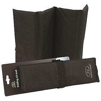 Highlander Black Folding Sit Mat