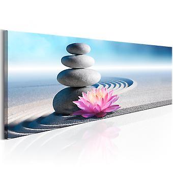 Canvas print-Zen tuin