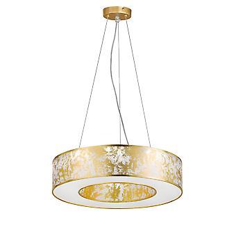 Wofi Leika - LED 1 Light Pendant Light Golden - 6370.01.15.7000
