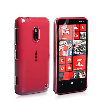 YouSave Accessories Nokia Lumia 620 Hard Case Clear