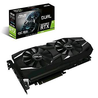 ASUS Dual-rtx2080-o8g grafische kaart NVIDIA GeForce rtx2080 8GB gddr6 PCI Express 3,0 interface actieve koeling